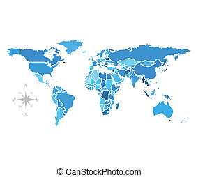 world map vector free stock image free