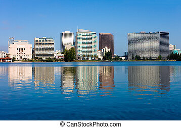 Oakland, California - Lake Merritt in Oakland, California