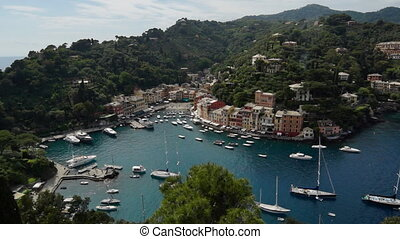 Portofino - Wide angle panoramic view