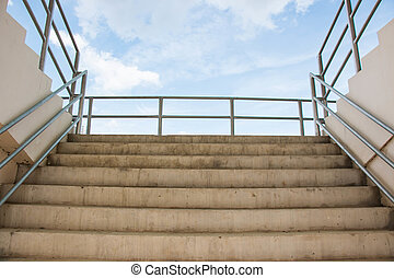 Stair to arena sport