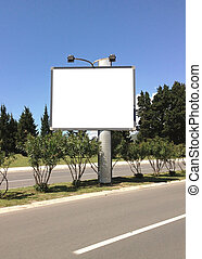 Billboard at street