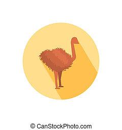 Ostrich icon