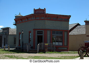 Historic Bank - A historic bank in South Dakota