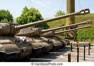 parts of the Soviet military machine