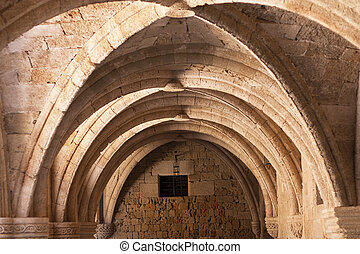 Rhodes archaeological museum the medieval building of the...