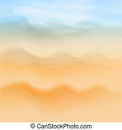 Summer sea beach background.