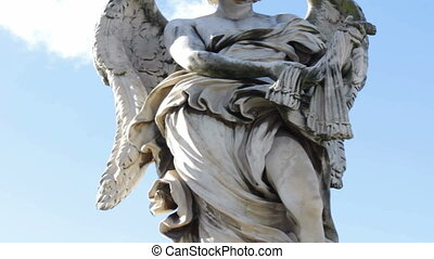 Angel with Whips Ponte Sant Angelo - Angel with the Whips on...
