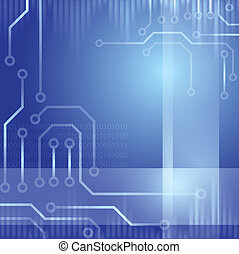 Abstract design technology theme vector background. Eps10