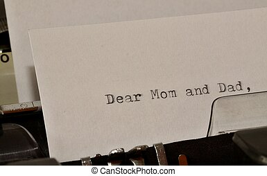 letter to mom dear message stock photo images 1 443 dear message 1443