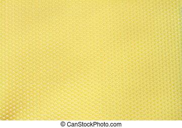 bee wax yellow texture
