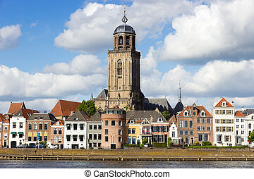 City view of Deventer, The Netherlands
