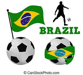 Brazil soccer balls