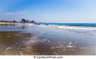 Grand Strand Shore - The wide sandy beaches of the Grand...