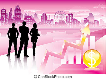 Urban Commercial - Vector file of urban commercial and...