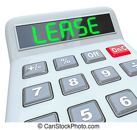 Lease Word Calculator Compare Buying Vs Leasing Better Deal...