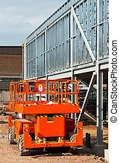 Elevated work platform - Self propelled diesel engined...