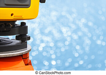 The total station - The total station, The geodetic and...