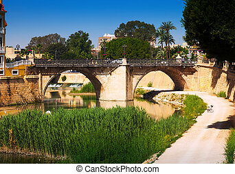 Puente Viejo in Murcia, Spain