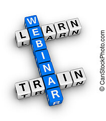 webinar train and learn crossword puzzle