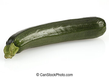 zucchini - courgette - zucchini isolated on white