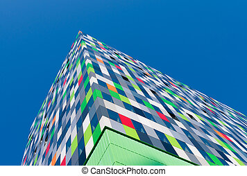 modern student apartments - Casa Confetti is the name of one...