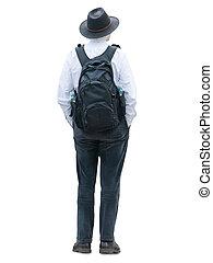 traveler - traveling man