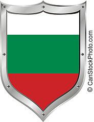 Bulgaria flag button.