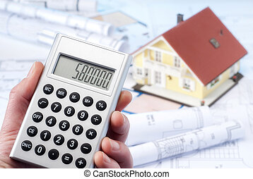 Calculation of the construction costs - Calculator with a...