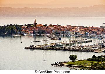 Town Izola, Slovenia - Beautiful coast town Izola - Slovenia...