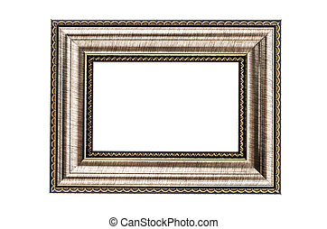Frame isolated on white
