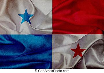 Panamá, ondulación, bandera