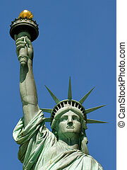 Statue of Liberty - New York City - - Statue of Liberty -...