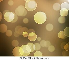 Sepia Beautiful Bokeh