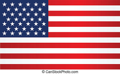 American Flag Patriotic background Vector illustration EPS...