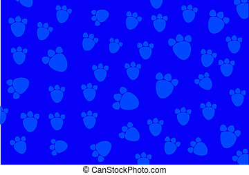 Background - animal foot print - for background, animal foot...