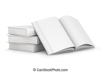 books with blank covers