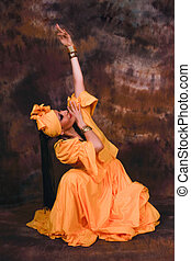 Afro Cuban Dance - Dance in honor to Goddess Oshun