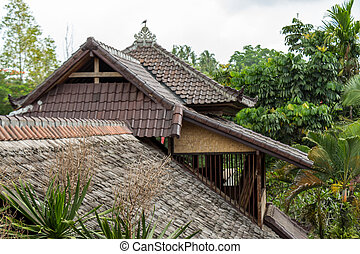 Architectural background of a house roof - Architectural...