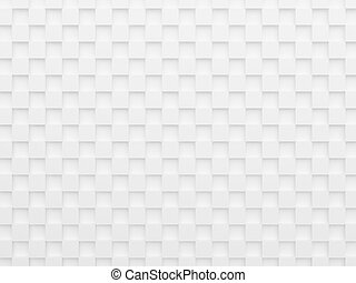 white cubes - Abstract white cubes background, 3d render