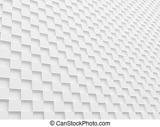 white cubes background, 3d render