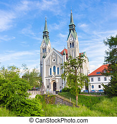 Trnovo Church in Ljubljana, Slovenia - Trnovo Church also...