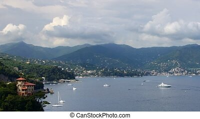 Liguria, Italy - Panoramic real-time view