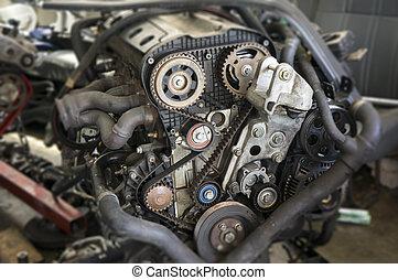 motor, Självgående