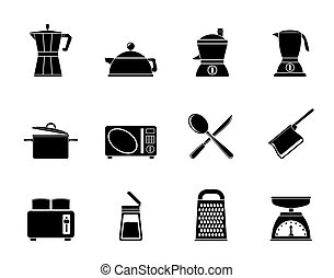 kitchen and household icons