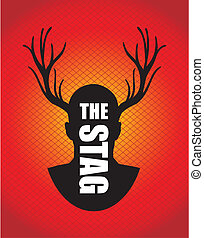 the stag silhouette