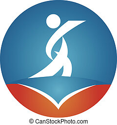 sports and educate logo icon - This is a great logo for...