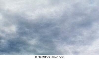 Storm clouds seamless loop