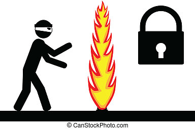 Protected by firewall