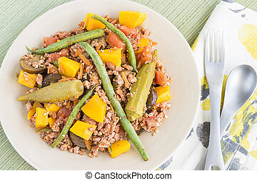 Pinakbet or pakbet is an indigenous Filipino dish from the...