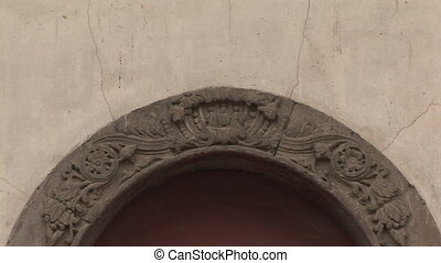 Stone Arch Entryway, Summer Palace - Stone arch doorway into...
